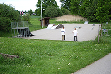Skaterplatz Am Waldrand s